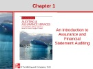 Lecture Auditing and assurance services (Second international edition) - Chapter 1: An introduction to assurance and financial statement auditing