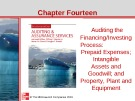 Lecture Auditing and assurance services (Second international edition) - Chapter 14: Auditing financing/investing process