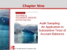 Lecture Auditing and assurance services (Second international edition) - Chapter 9: Audit sampling: An application to substantive tests of account balances