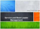 Bài giảng Quản trị Linux: Service and boot loader management - Đặng Thanh Bình
