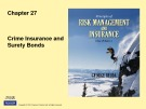 Lecture Rick management and insurance (11th edition): Chapter 27 - George Rejda