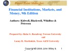 Lecture Financial institutions, markets, and money (9th Edition): Chapter 10 - Kidwell, Blackwell, Whidbee, Peterson