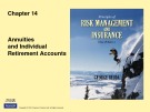 Lecture Rick management and insurance (11th edition): Chapter 14 - George Rejda