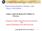Lecture Financial institutions, markets, and money (9th Edition): Chapter 15 - Kidwell, Blackwell, Whidbee, Peterson