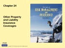 Lecture Rick management and insurance (11th edition): Chapter 24 - George Rejda