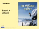 Lecture Rick management and insurance (11th edition): Chapter 10 - George Rejda