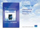 Lecture Principles of Managerial finance (4th edition): Chapter 16 - Lawrence J. Gitman