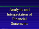 Lecture Principles of Accounting: A focus on analysis and interpretation (8th edition): Chapter 16 - Hillman, Kochanek, Barsky
