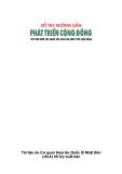 Sổ tay hướng dẫn Phát triển cộng đồng (Tài liệu dành cho người làm công tác phát triển cộng đồng)