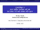 Bài giảng Kinh tế lượng: Chương 3 - Vũ Duy Thành