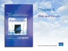 Lecture Principles of Managerial finance (4th edition): Chapter 5 - Lawrence J. Gitman