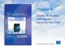 Lecture Principles of Managerial finance (4th edition): Chapter 9 - Lawrence J. Gitman