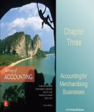 Lecture Survey of accounting (4/e) - Chapter 3: Accounting for merchandising businesses