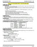 Chuyên đề: Tốc độ phản ứng - cân bằng hóa học