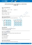 Hướng dẫn giải bài 3,4 trang 11 SGK Toán 3