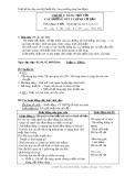 Giáo án môn Mỹ thuật lớp 1 đề tài: Sáng tạo với các đường nét và hình cơ bản