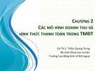 Bài giảng Thương mại điện tử: Chương 2 - ThS. Thiều Quang Trung