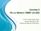 Bài giảng Thương mại điện tử: Chương 5 - ThS. Thiều Quang Trung