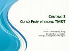 Bài giảng Thương mại điện tử: Chương 3 - ThS. Thiều Quang Trung