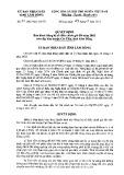 Quyết định số 31/2015/QD-UBND ủy ban nhân dân tỉnh Lâm Đồng