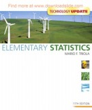 Ebook Elementary statistics (11E): Part 2