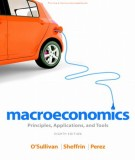 Ebook Macroeconomics - Principles, applications, and tools (8th edition): Part 1