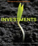 Ebook Fundamentals of investments valuation and management (7th edition): Part 1