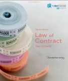 Ebook Law of contract (10th edition): Part 1