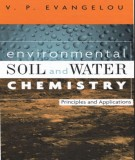 Ebook Environmental soil and water chemistry - Principles and applications: Part 1