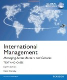 international management - managing across borders and culture (8th edition - global edition): part 1