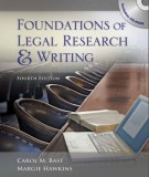 Ebook Foundations of legal research and writing (4th edition): Part 1