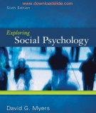 exploring social psychology (6th edition): part 1