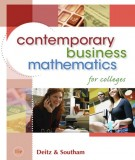 contemporary business mathematics - for colleges (15th edition): part 2