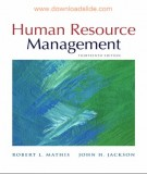 Ebook Human resource management (13th edition): Part 1