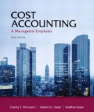 Ebook Cost accounting - A managerial emphasis (14th edition): Part 1