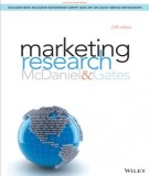marketing research (10th edition): part 1