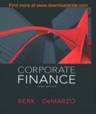 Ebook Corporate finance (3rd edition): Part 2