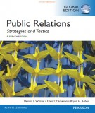 Ebook Public relations - Strategies and tactics (11th edition): Part 1