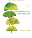 microeconomics and behavior (9th edition): part 1