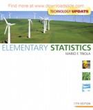 elementary statistics (11e): part 1