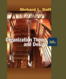 Ebook Organization theory and design (10th edition): Part 1