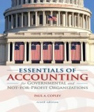 Ebook Essentials of accounting for governmental and not for profit organizations (10E): Part 1