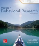 methods in behavioral research (12th edition): part 1