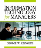 Ebook Information technology for managers: Part 1