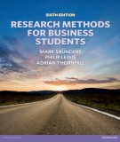 research methods for business students (6th edition): part 1