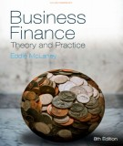 Ebook Business finance - Theory and practice (8E): Part 1