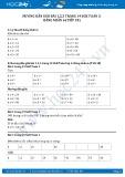 Hướng dẫn giải bài 1,2,3 trang 19 SGK Toán 3