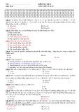 Kiểm tra học kỳ II môn học Vật lý 10 nâng cao