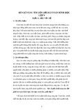 Sáng kiến kinh nghiệm: Rèn kĩ năng tìm lời giải bài toán Hình học lớp 9