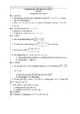 Đề thi kiểm tra thử học kỳ I lớp 10 môn Toán (Đề số 1)